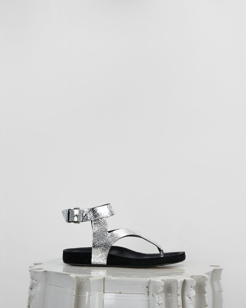 ELWINA sandals with eyelets ISABEL MARANT