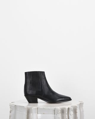 ISABEL MARANT BOOTS D DERLYN leather ankle boots d