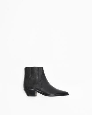 DERLYN leather ankle boots