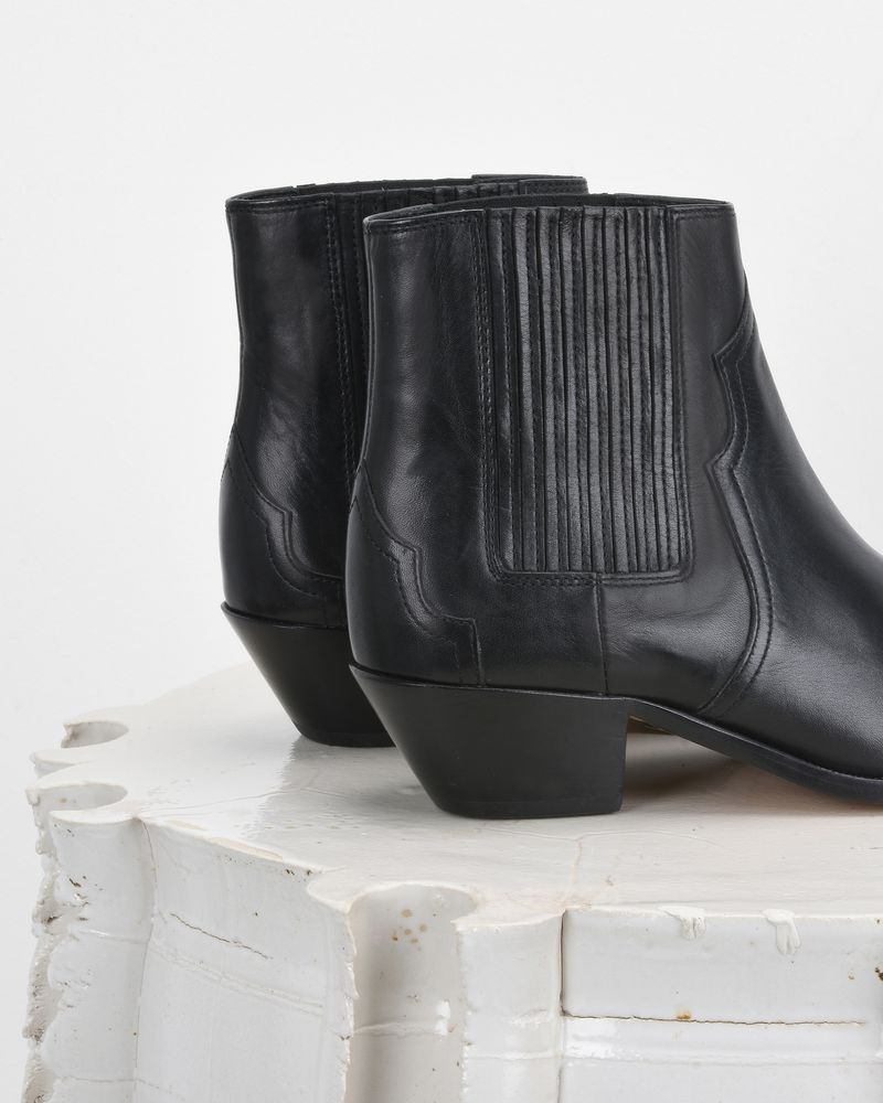 DERLYN leather ankle boots ISABEL MARANT