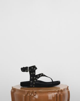 ISABEL MARANT SANDALS Woman ELWINA sandals with eyelets d