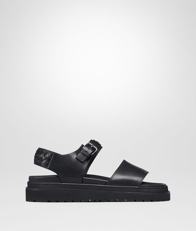 BOTTEGA VENETA TYRELL SANDAL IN NERO CALF Sneaker or Sandal Man fp