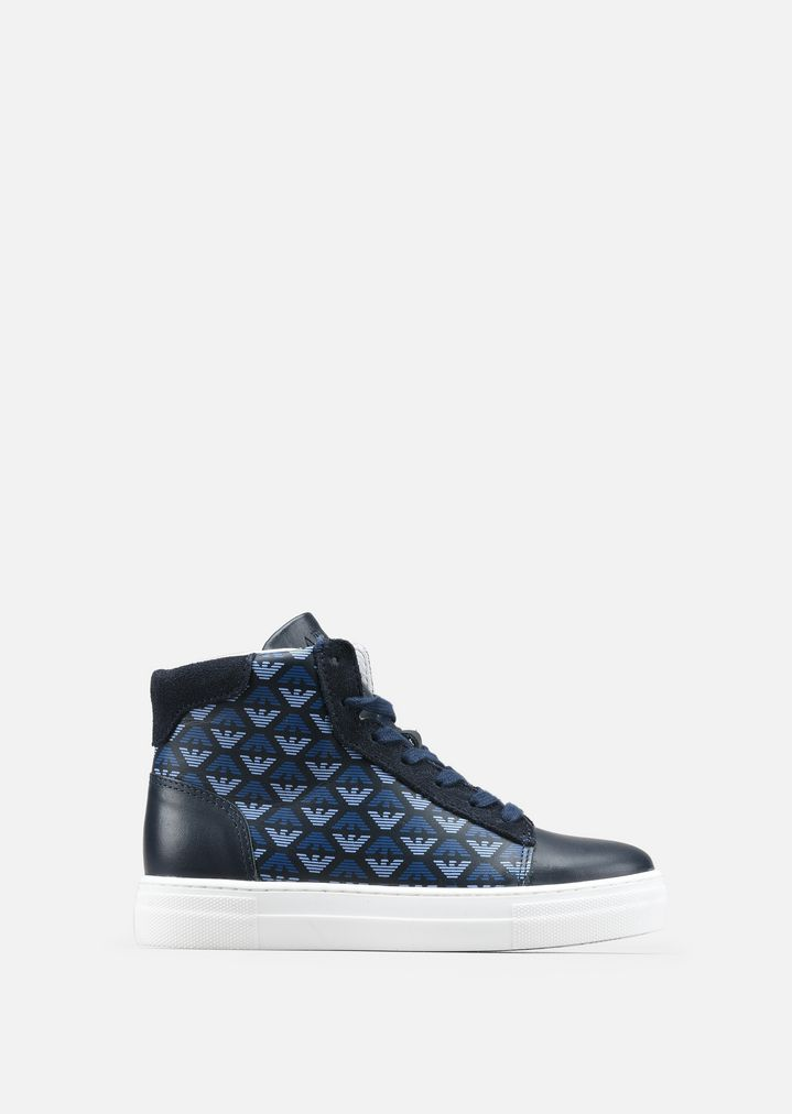 bd3c272c99 High top leather sneakers