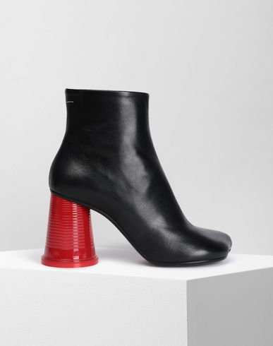 MM6 MAISON MARGIELA Ankle boots Woman Ankle boots with cup heel f