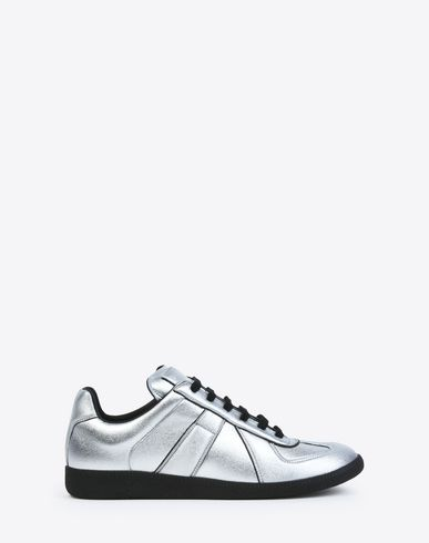 MAISON MARGIELA Sneakers D Metallic neoprene Replica sneakers f