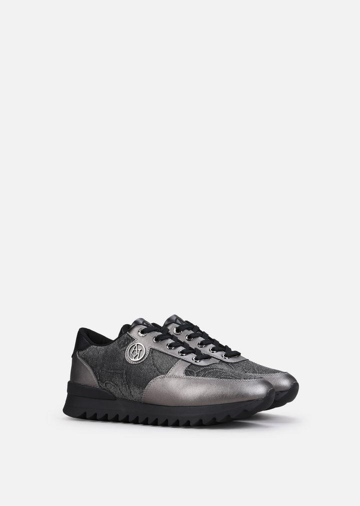 Sneaker   Femme   Emporio Armani 7daab350cd7b