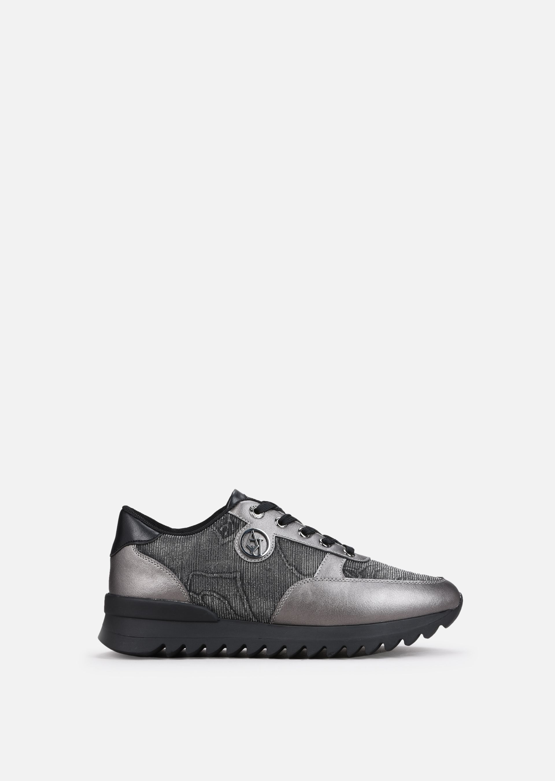 Sneakers With Marble Effects For Women Emporio Armani