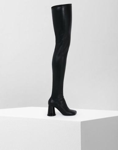 MM6 MAISON MARGIELA Boots D Thigh-high boots with cup heels f