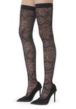 ALEXANDER WANG LYRA LACE THIGH HIGH BOOT 中跟鞋 Adult 8_n_r
