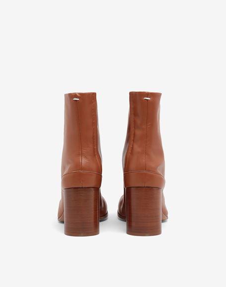 MAISON MARGIELA Tabi calfskin boots Tabi boots Woman d