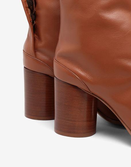MAISON MARGIELA Tabi calfskin boots Tabi boots Woman e