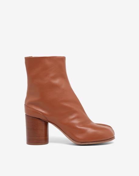 MAISON MARGIELA Tabi calfskin boots Tabi boots Woman f