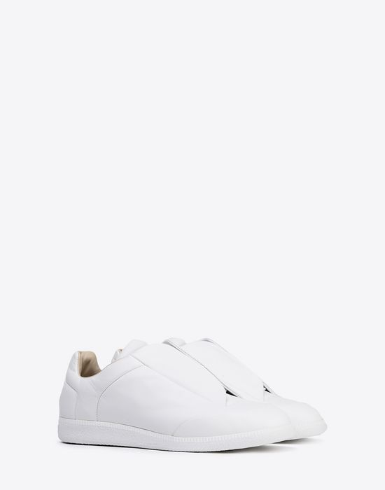 MAISON MARGIELA Calfskin Future Low Top sneakers Sneakers [*** pickupInStoreShippingNotGuaranteed_info ***] r