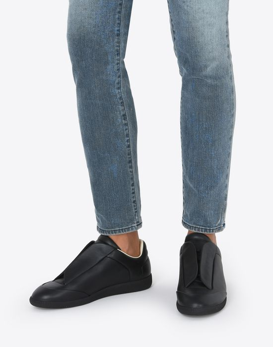 MAISON MARGIELA Calfskin Future Low Top sneakers Sneakers [*** pickupInStoreShippingNotGuaranteed_info ***] b