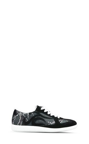 JUST CAVALLI Pump Woman Metallic sandals with buckles f