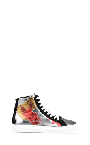 "JUST CAVALLI Sneakers Man ""Serpentine"" high-top sneakers  f"