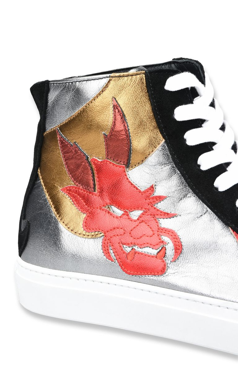 JUST CAVALLI High-top dragon sneakers Sneakers Man e