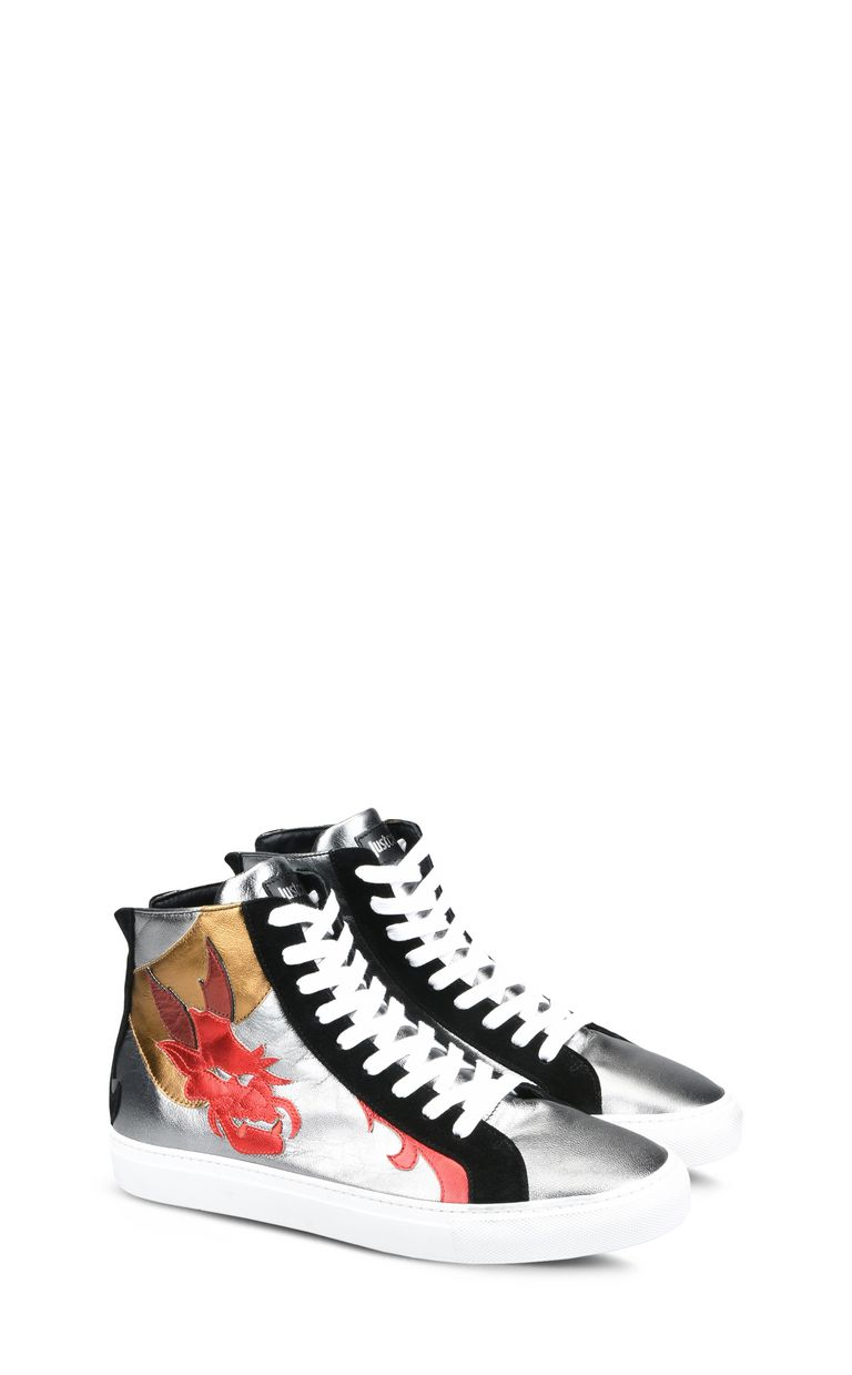 JUST CAVALLI High-top dragon sneakers Sneakers Man r