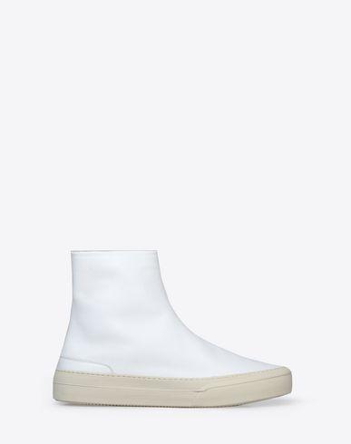 MAISON MARGIELA Sneakers U Bottines en cuir de veau avec des semelles de sneaker f
