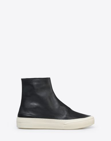 MAISON MARGIELA Calfskin ankle boots with sneaker soles Sneakers U f