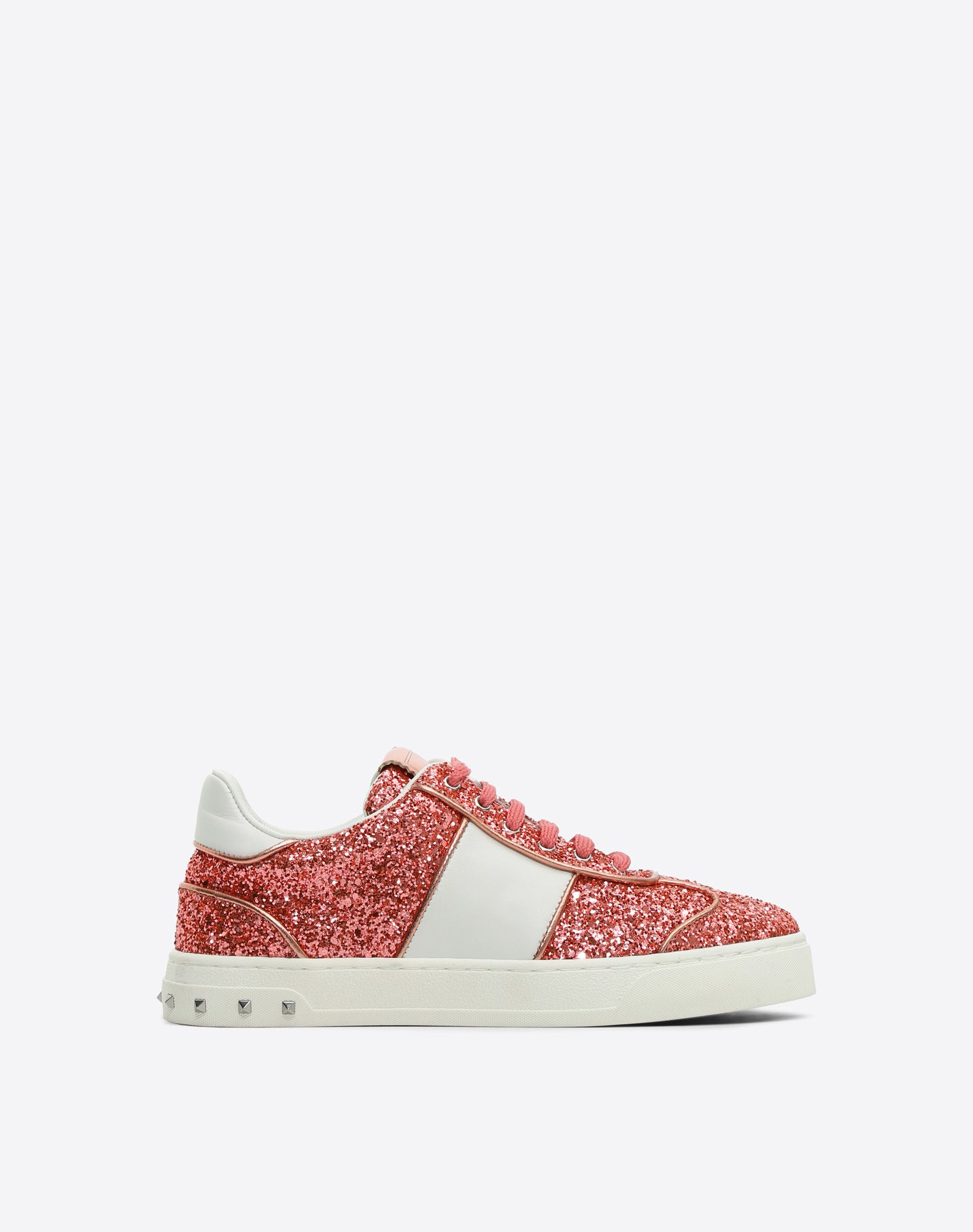 VALENTINO GARAVANI HIGH-TOP SNEAKER D Embroidered high-top Sneaker with  cut-out
