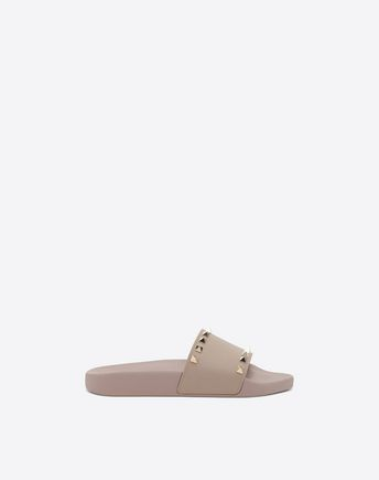 VALENTINO GARAVANI Rubber slides D See-through slide f