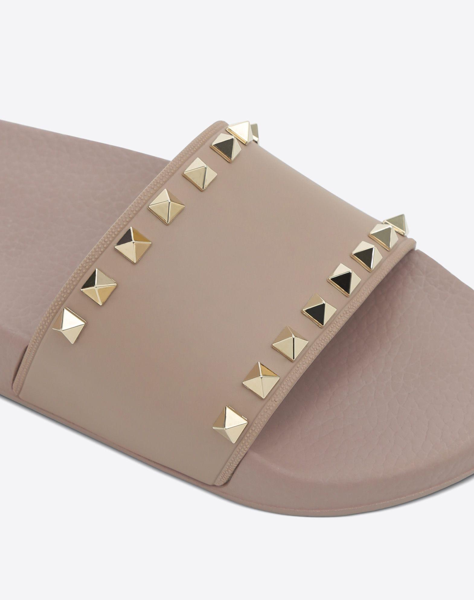 VALENTINO Rockstud PVC Slide Sandal SLIDE SANDAL D b