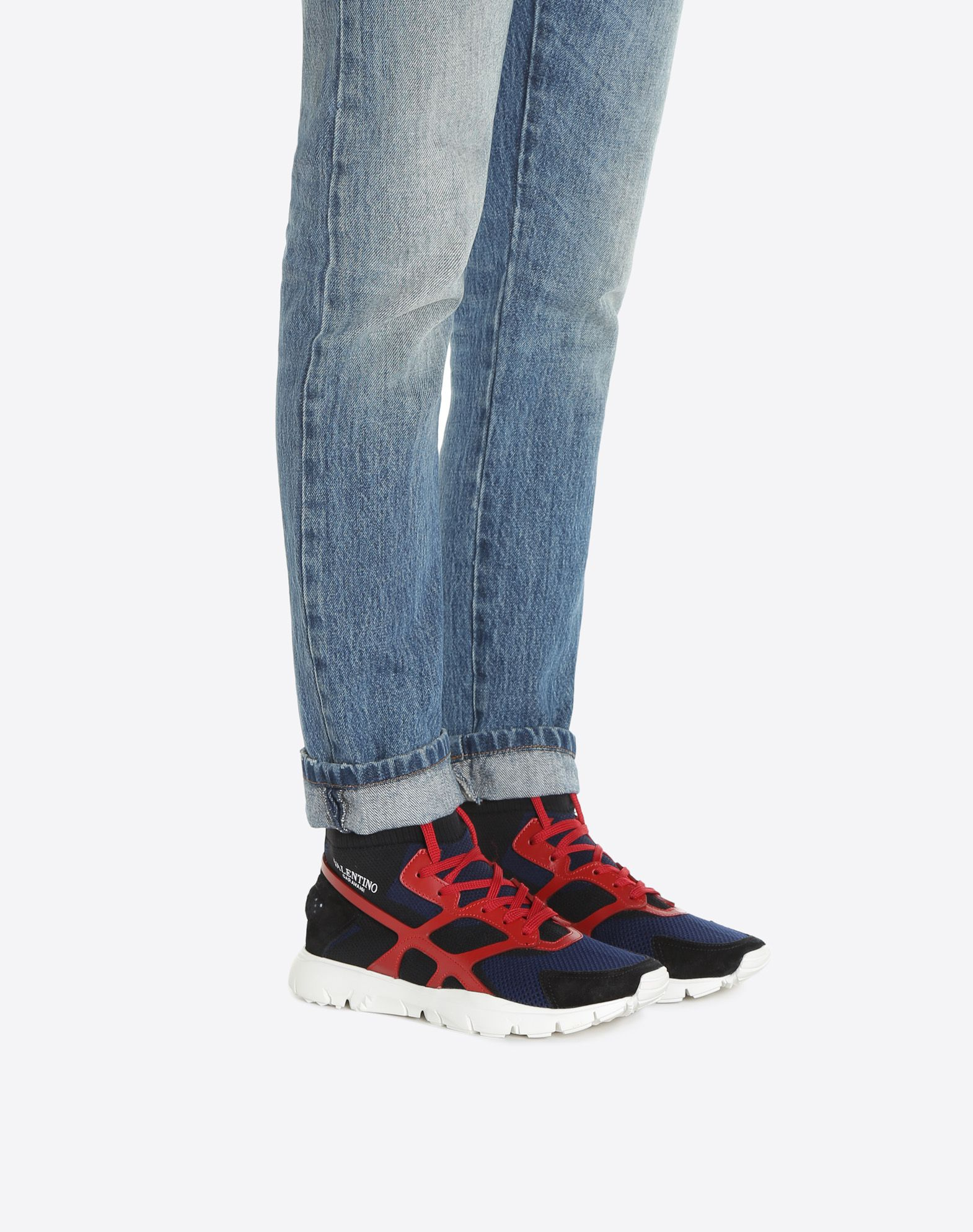 discount release dates Valentino Sound High sneakers cheap outlet IzJZUQ