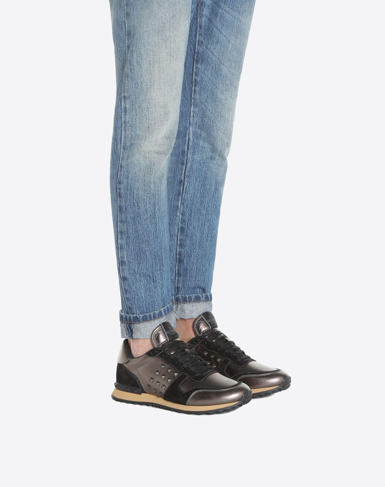 VALENTINO Rockstud Sneaker LOW-TOP SNEAKERS U a