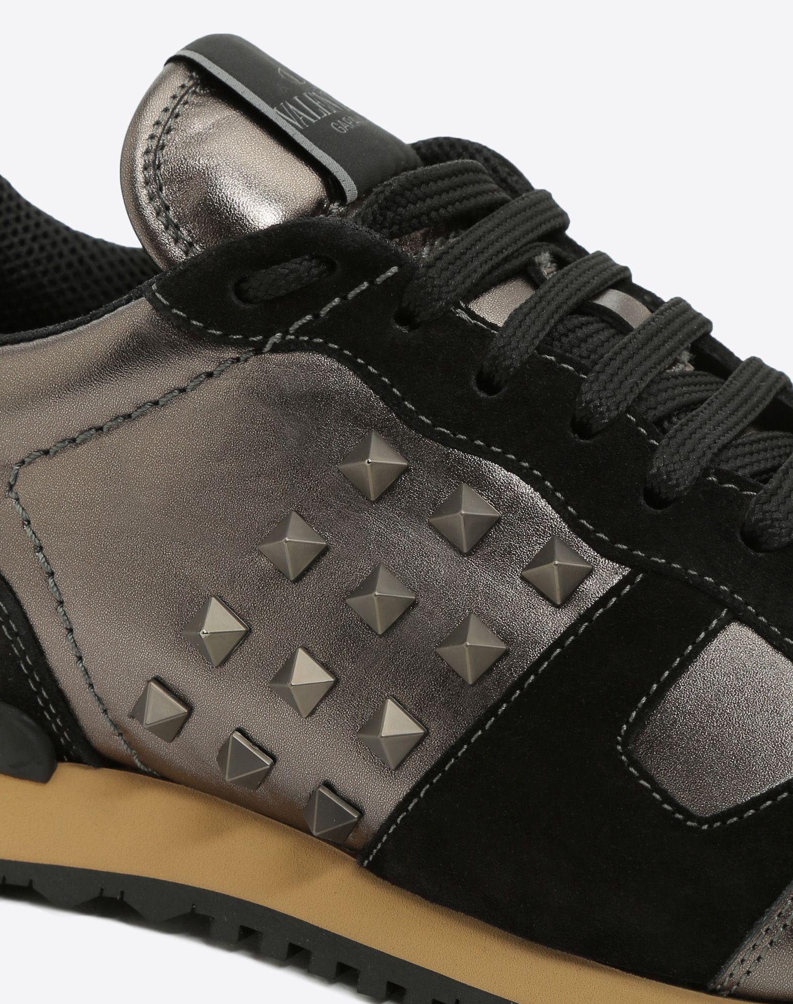 VALENTINO Rockstud Sneaker LOW-TOP SNEAKERS U b
