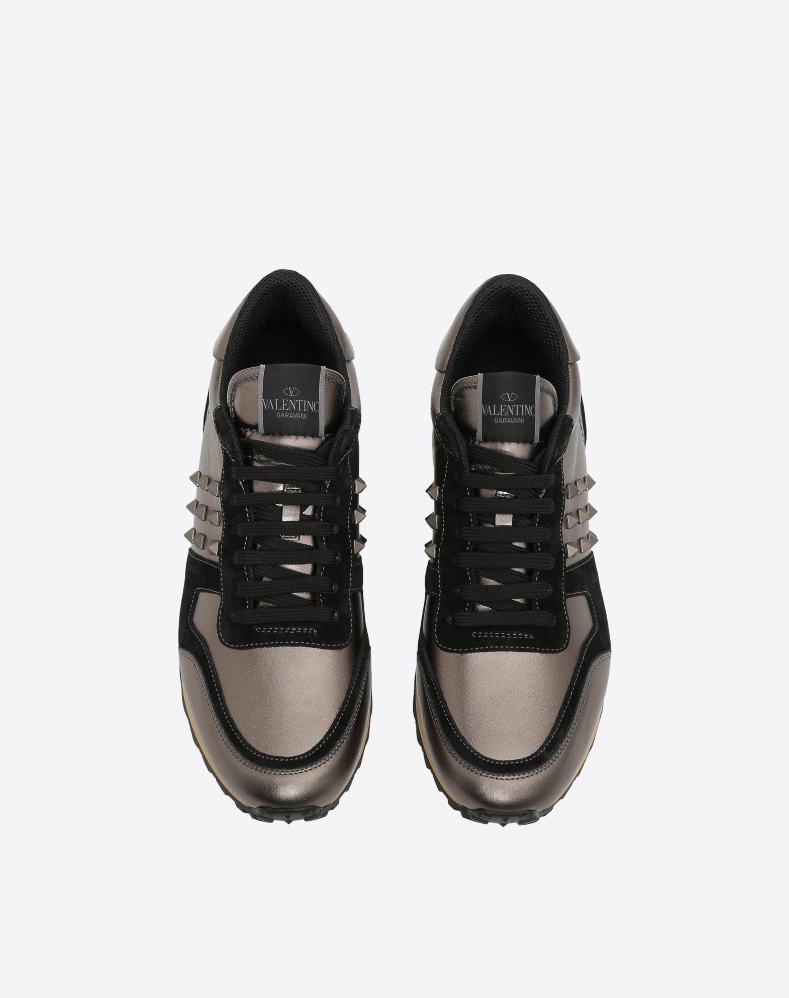 VALENTINO Rockstud Sneaker LOW-TOP SNEAKERS U e