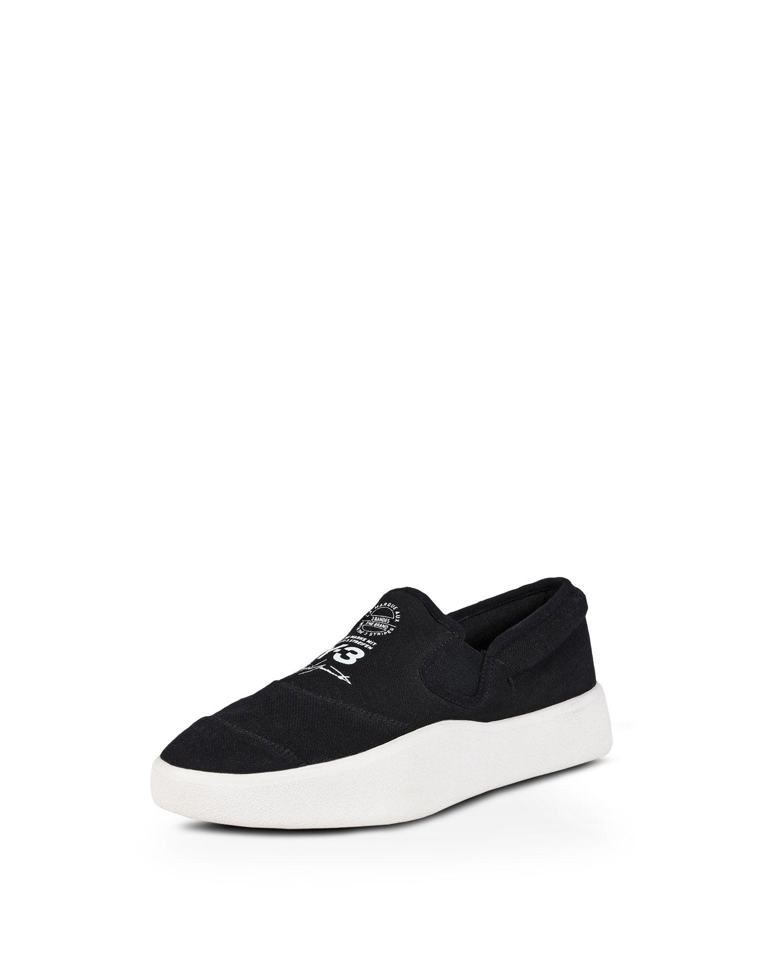 White and Black Y-3 Tangutsu Slip-On Sneakers Yohji Yamamoto 2FRwjm8