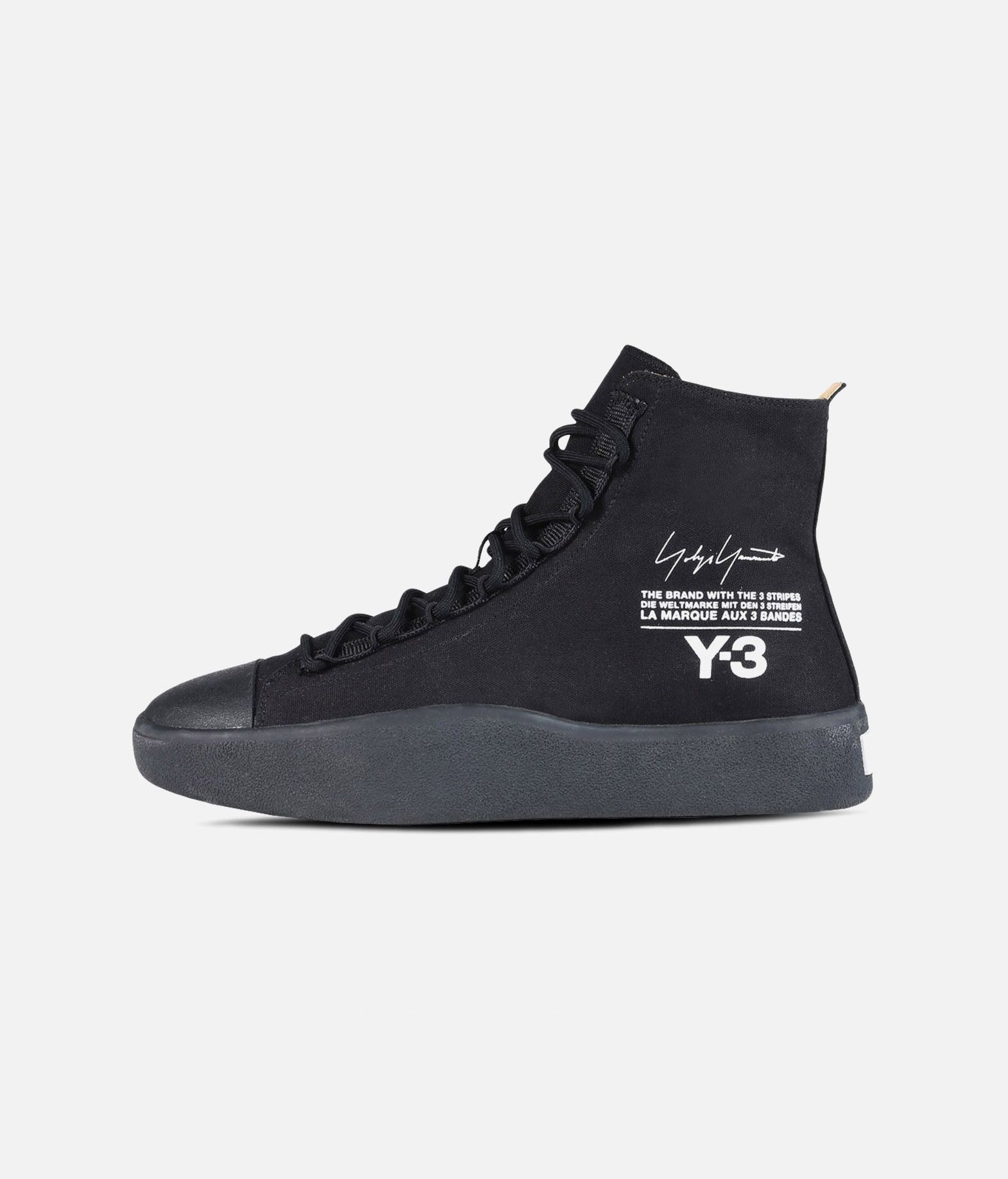 d0df484da3fea ... Y-3 Y-3 BASHYO High-top sneakers E f ...