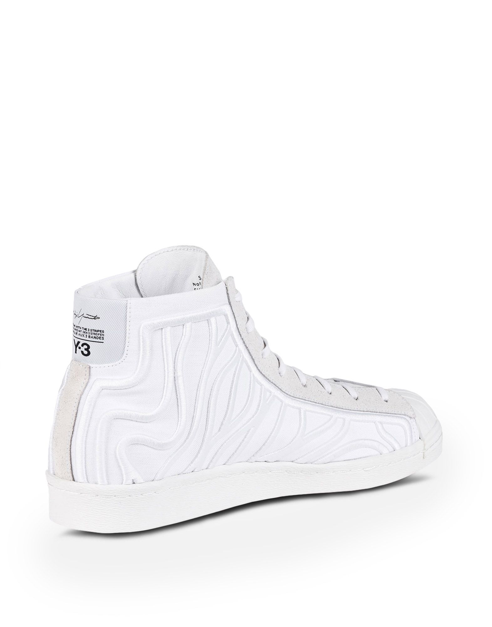 Off-White White Shishu Super High-top Sneakers