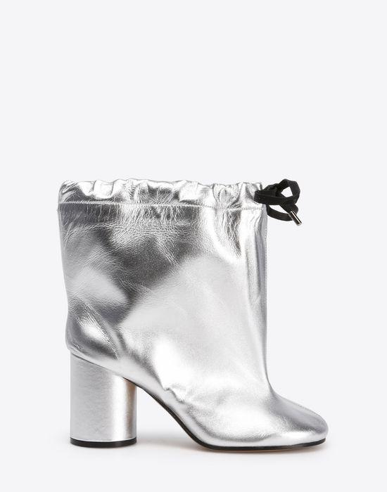 hot sale online e5d29 d5f45 Maison Margiela Oversized Metallic Ankle Boots Women