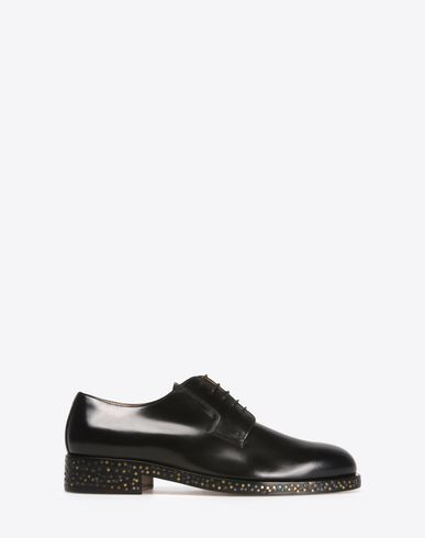 MAISON MARGIELA Laced shoes U Calfskin Oxfords with contrasting soles f
