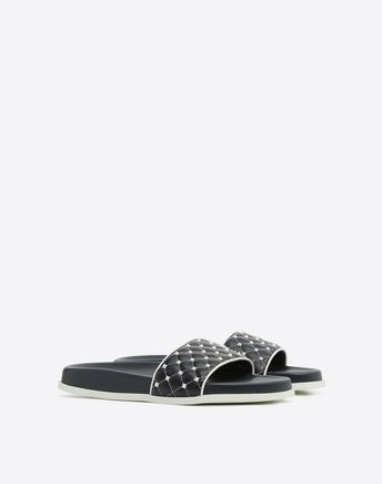 VALENTINO GARAVANI Rubber slides D See-through slide r
