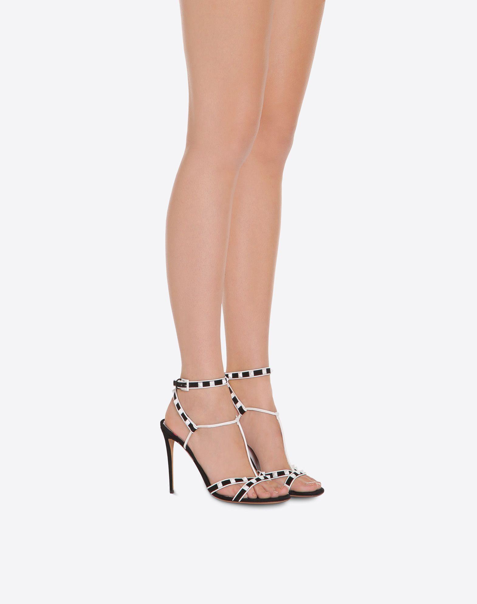 VALENTINO GARAVANI Free Rockstud 105mm Sandal HIGH HEEL SANDALS D a