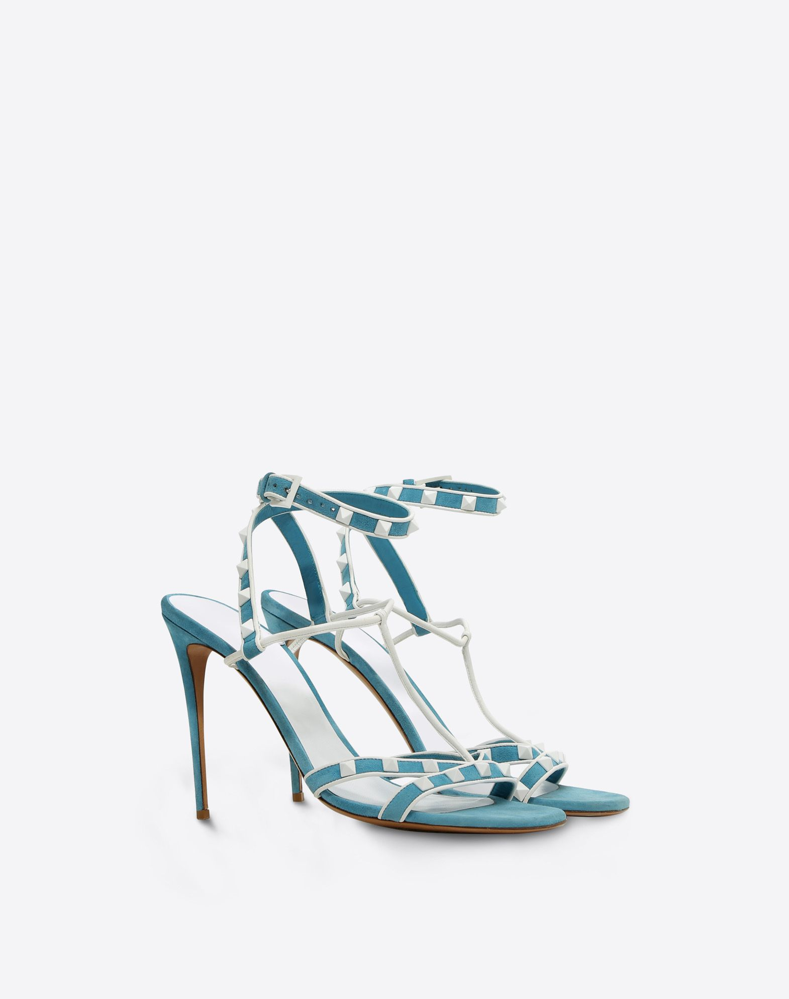 Valentino Garavani Free Rockstud suede sandals Purchase Cheap Price Buy Cheap Wide Range Of tS2bce