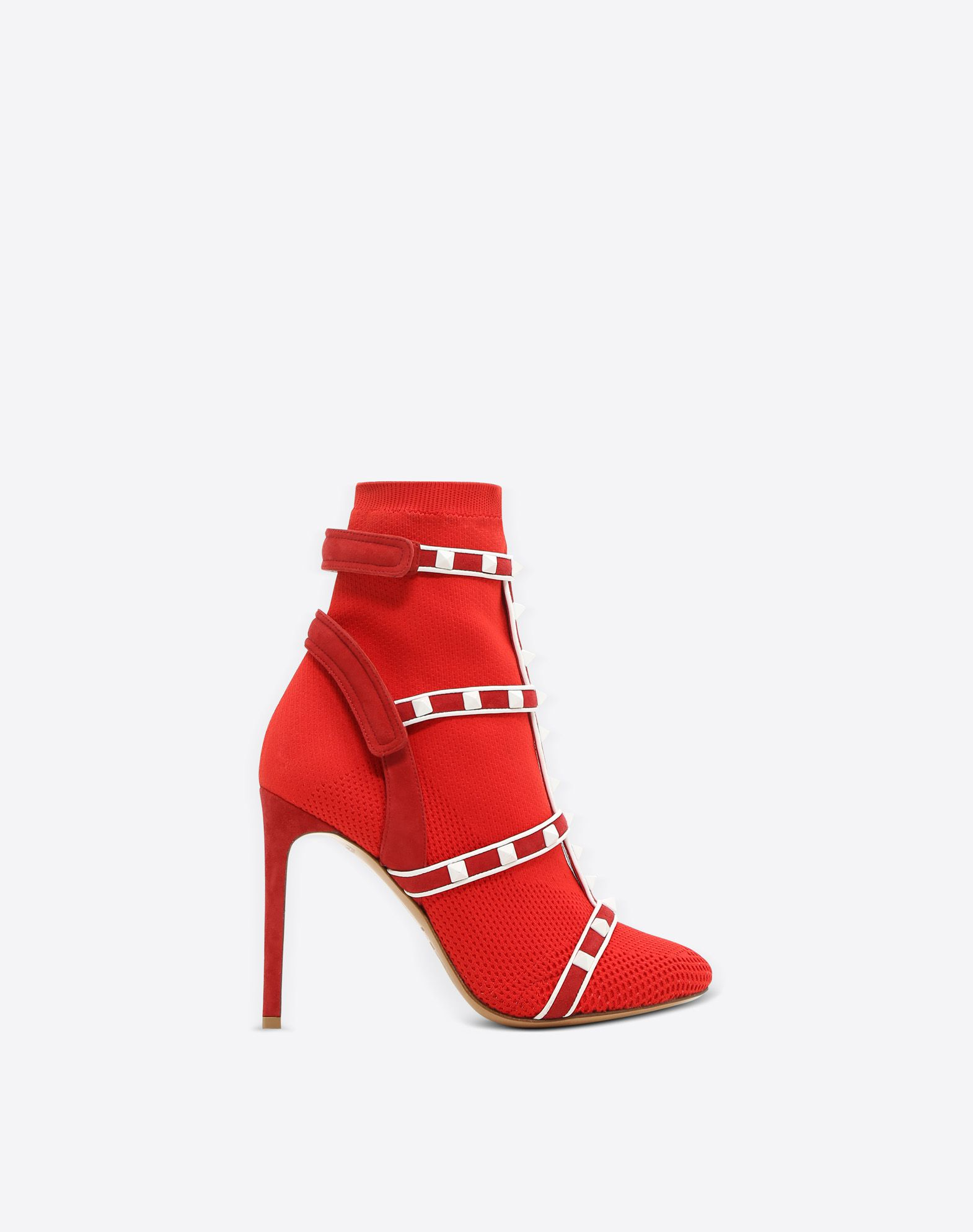 RED Valentino Leather Ankle Boots Gr. EU 40 UyIIRnZP9