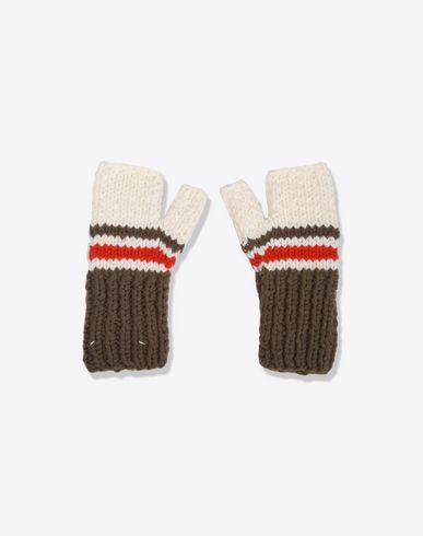 MAISON MARGIELA Gloves U Fingerless knit mittens f