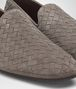 BOTTEGA VENETA STEEL INTRECCIATO SUEDE FIANDRA SLIPPER Mocassin or Slipper Man ap