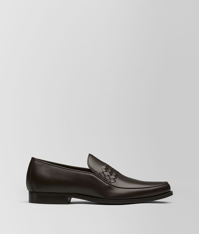 BOTTEGA VENETA ESPRESSO CALF CHET SLIP-ON Mocassin or Slipper Man fp