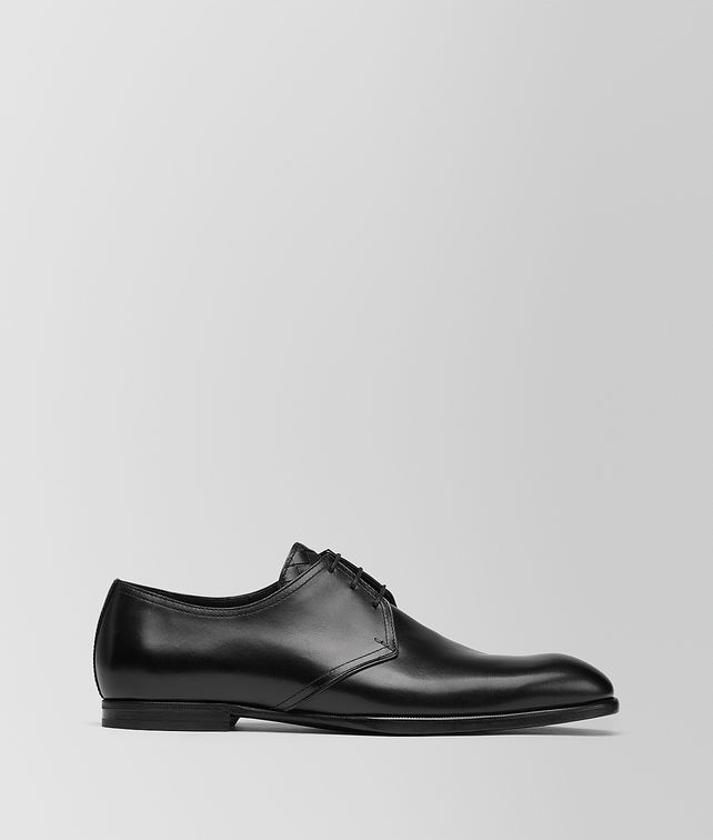 BOTTEGA VENETA NERO CALF ILFORD DERBY SHOE Lace Up Man fp
