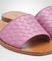 sandales ravello en cuir nappa intrecciato nero Photo détaillée de l'avant