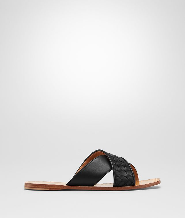 BOTTEGA VENETA NERO INTRECCIATO NAPPA RAVELLO SANDAL Sandals [*** pickupInStoreShipping_info ***] fp