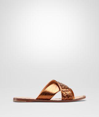 黑色编织小羊皮RAVELLO凉鞋
