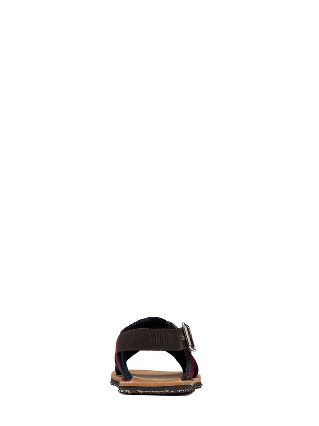 Marni Sandal in red and blue ribbon Man - 3