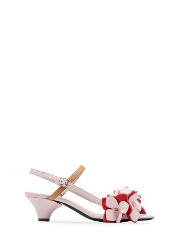 Marni Sling-back sandal in lambskin Woman