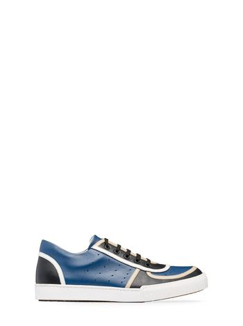 Marni Sneaker in calfskin with open-work upper Man